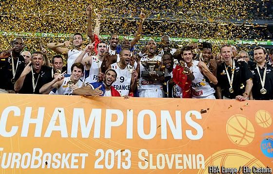 Eurobasket 2013 : En Or massif !