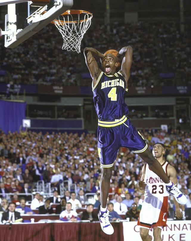 Chris Webber Michigan
